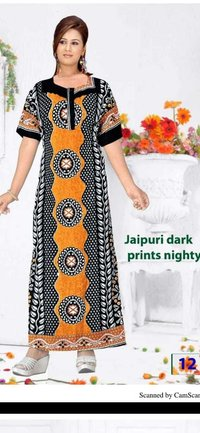 JAIPURI COTTON NIGHTY