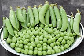 Raw Natural Dried Green Peas