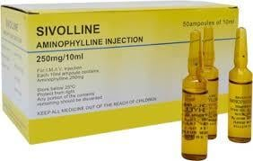 Aminophylin Injection Certifications: Fda Approved