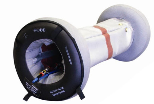 HEAT RESISTANT PIPE PURGING SYSTEM