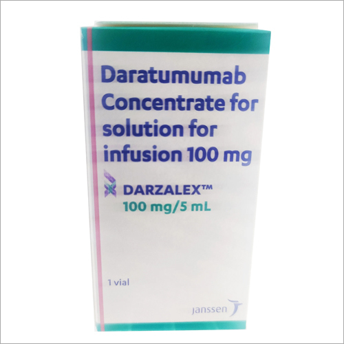 100 mg Dratumumab Concentrate For Solution For Infusion