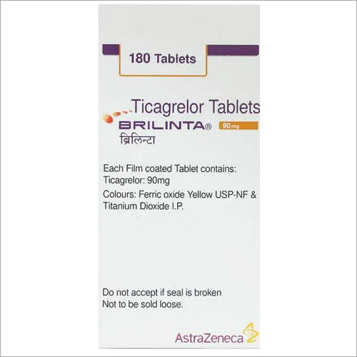 90mg Ticagrelor Tablets