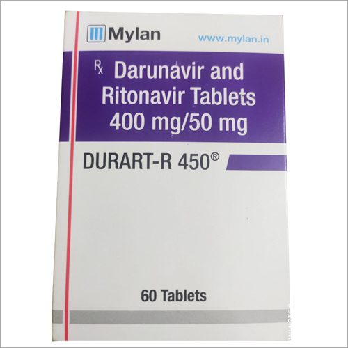 450mg Darunavir And Ritonavir Tablets