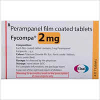 2 mg Perampanel Film Coated Tablets