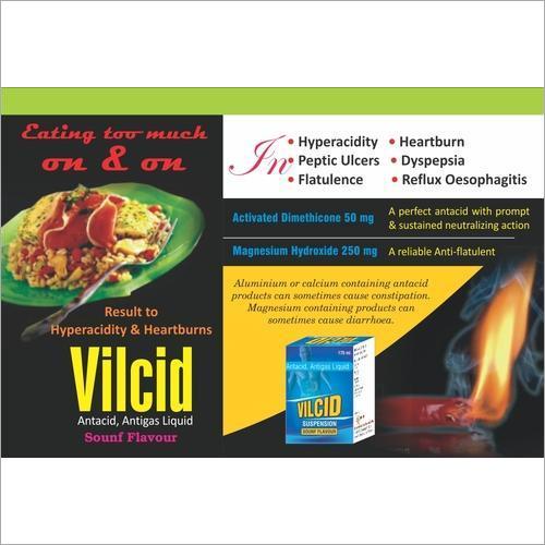 Antacid Antigas Liquid Sounf Flavour