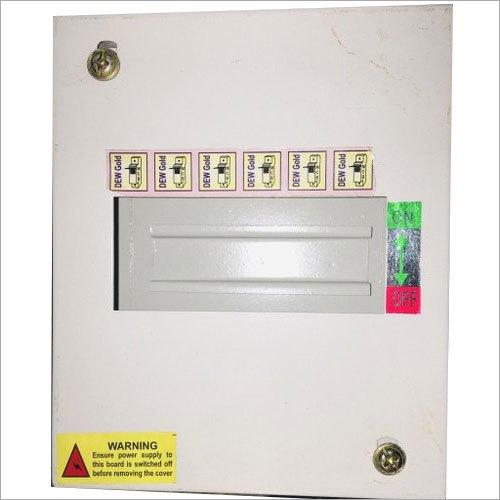 6 Way Single Door MCB Distribution Boards
