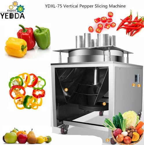 YDXL-75 Vertical Pepper Slicing Machine