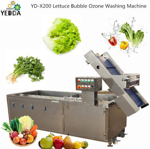 YD-X200 Automatic Lettuce Bubble Ozone Washing Machine