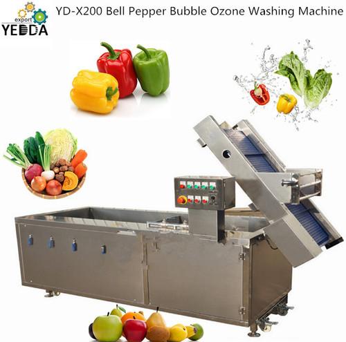 YD-X200 Bell Pepper Bubble Ozone Washing Machine