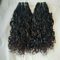 Virgin Curly Peruvian Hair,black Women Single Donor Hair
