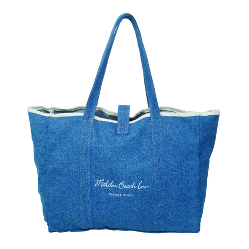 14 Oz Washed Denim Tote Bag