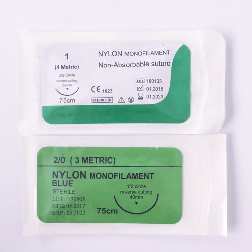 Nylon suture