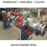 Crankshaft-MAN-B&W - 5L23/30H, 6L23/30H, 7L23/30H, 8L23/30H Supplier India