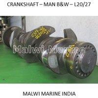 Crankshaft-MAN-B&W - 6L20/27, 7L20/27, 8L20/27, 9L20/27 Supplier India