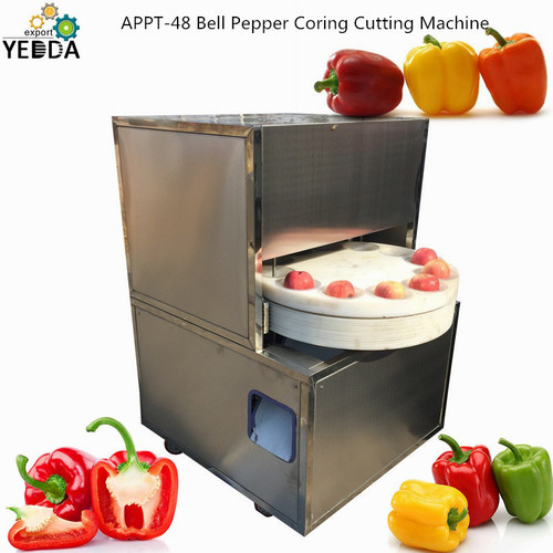 APPT-48 Bell Pepper Coring Cutting Machine