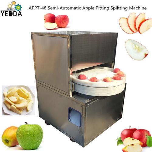 APPT-48 Semi-Automatic Apple Pitting Splitting Machine