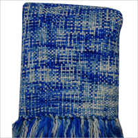Blue Acrylic Throw