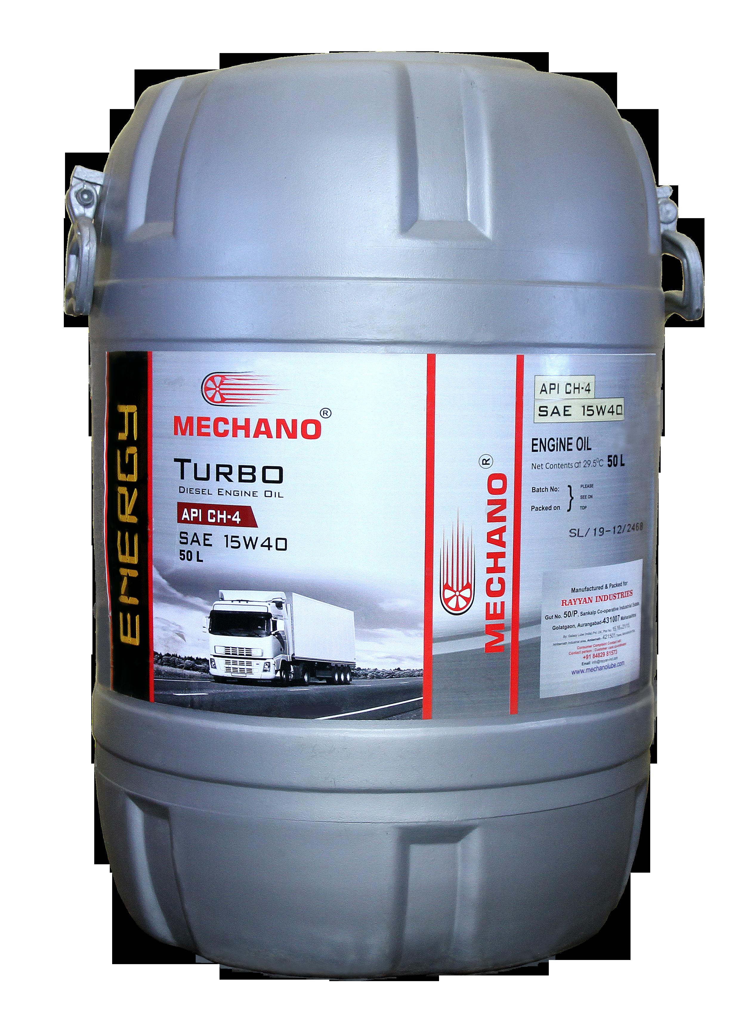 Mechano Energy  SAE 15W40 API CH4