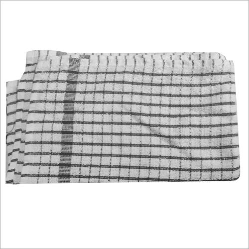 Small Check Cotton Kitchen Towel
