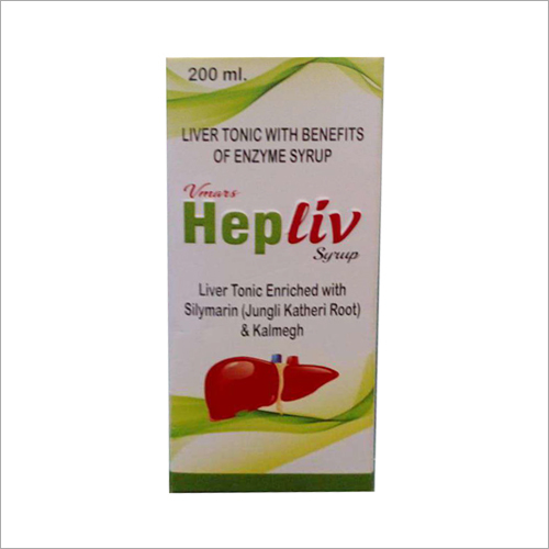 200 ML Liver Tonic With Benefits Of Enzyme Syrup