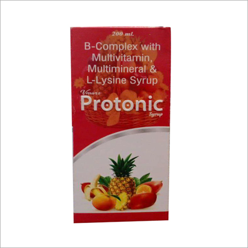 200 ML B-Complex With Multivitamin, Multiminerals And L-Lysine Syrup