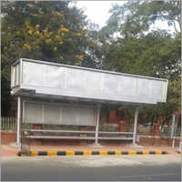 Stainless Steel  MS Bus Shelter