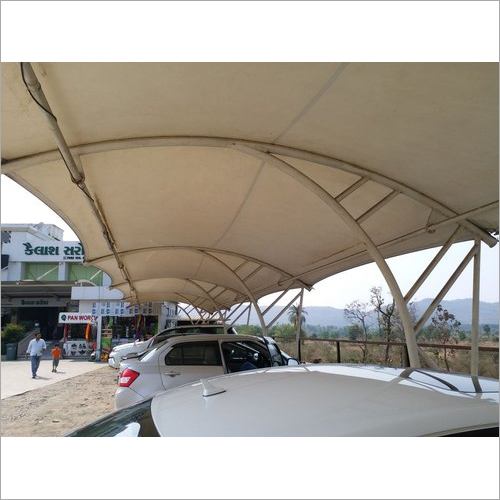 Tensile Structure With Fabrics