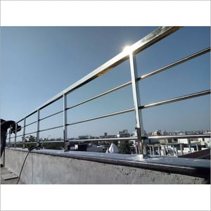Stainless Steel With Glass And Without Glass Railings