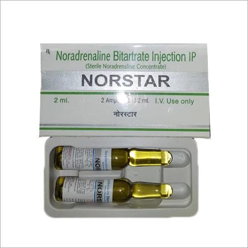 Noradrenaline Bitartrate Injection IP
