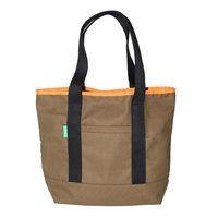 12 Oz Dyed Canvas Tote Bag With Open Front Pocket & Web Handle