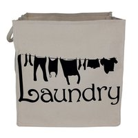 10 Oz PP Laminated Natural Canvas Laundry Bag