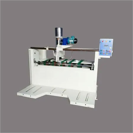 Semi Auto Gluer Machine