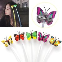LED Butterfly Hair Pin