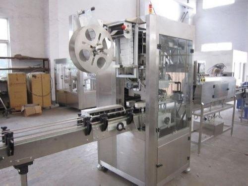 Pvc Sleeve Shrinking Labeling Machine