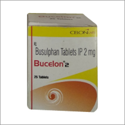 IP 2 mg Busulphan Tablets