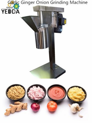 Automatic Ginger Paste Grinding Machine