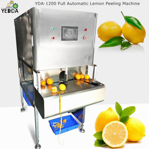 Yda-1200 Full Automatic Lemon Peeling Machine