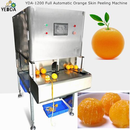 Yda-1200 Full Automatic Orange Skin Peeling Machine