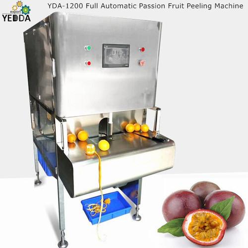 Yda-1200 Full Automatic Passion Fruit Peeling Machine