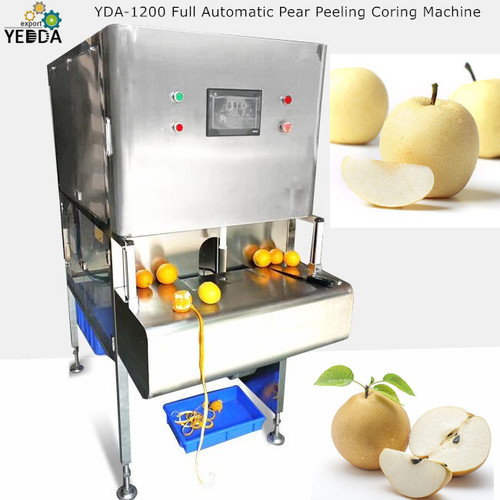 Yda-1200 Full Automatic Pear Peeling Coring Machine