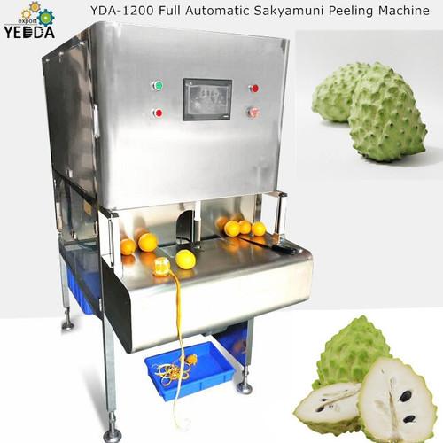 Yda-1200 Full Automatic Sakyamuni Peeling Machine