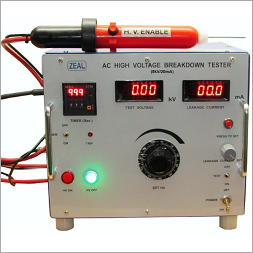 5kV-20mA AC High Voltage Breakdown Tester