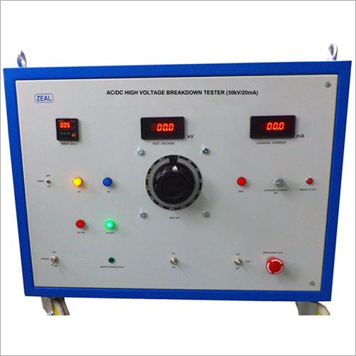 AC-DC High Voltage Breakdown Tester