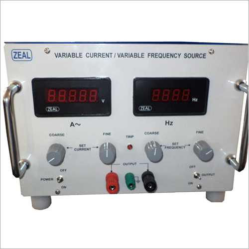 Variable Current Variable Frequency Source