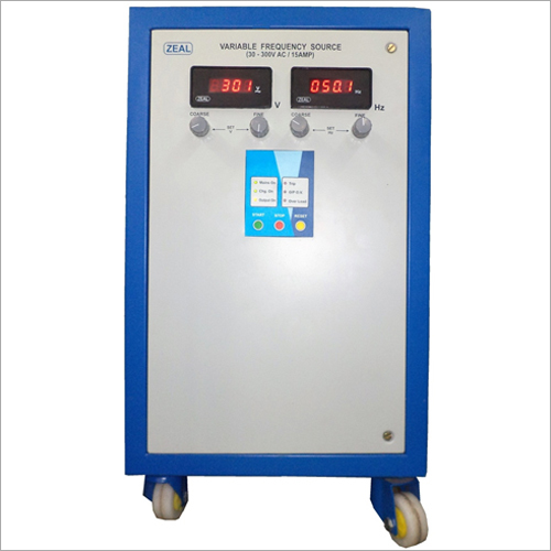 4.5 kVA Variable Voltage Variable Frequency Source