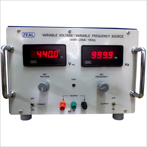 Variable Voltage Variable Frequency Source 25VA