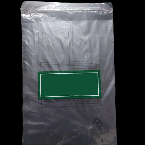Plastic Plain Packaging Bag