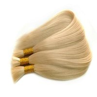 Greatest Blonde Human Hair Extensions With Straight Hair