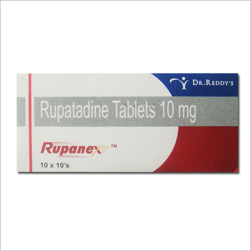 10 MG Rupatadine Tablets