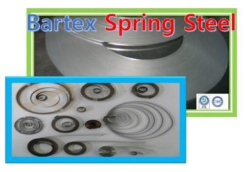 Texture-Rolled flat spring steel strip